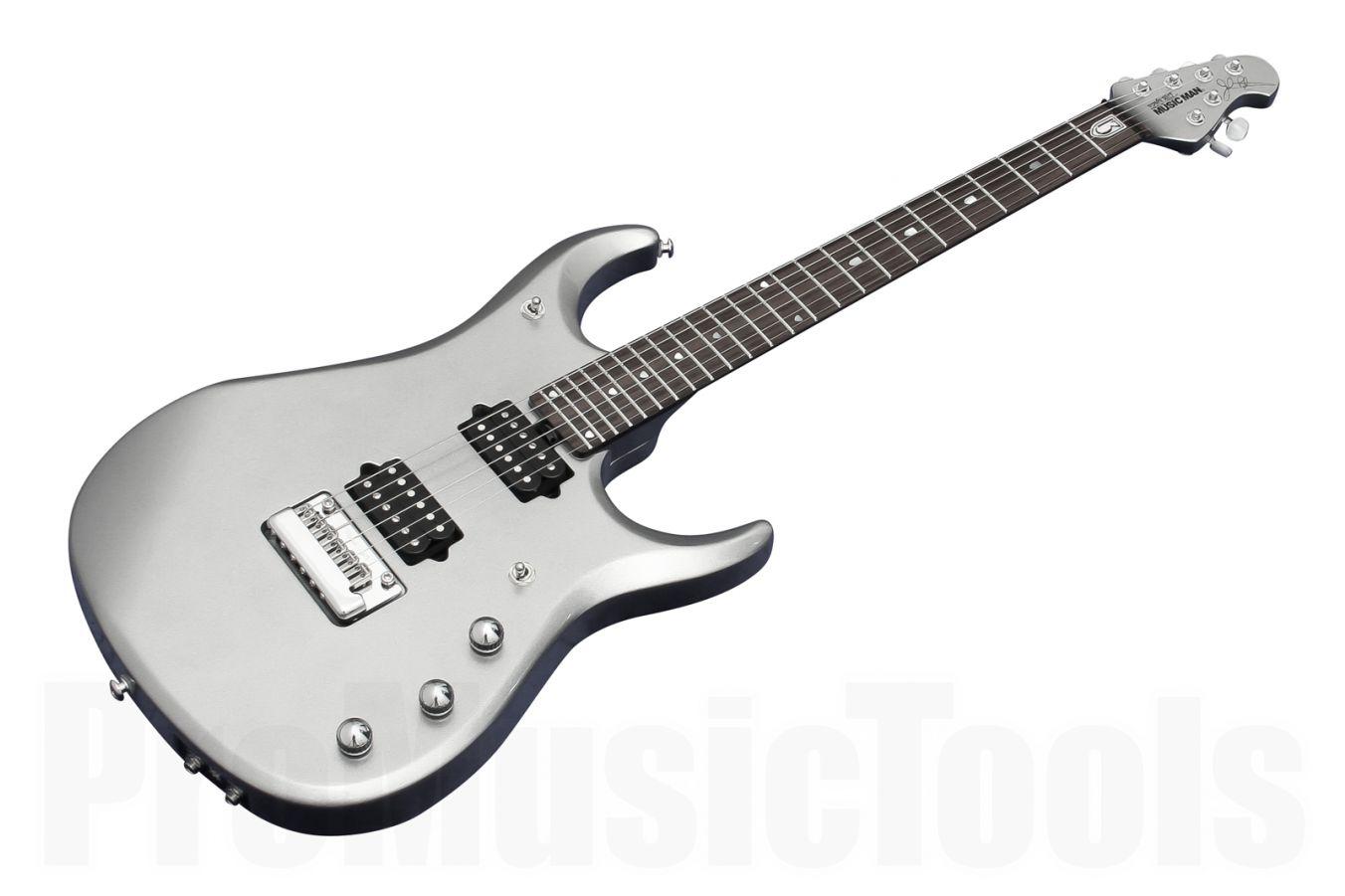 Music Man USA John Petrucci JP13 PS - Platinum Silver