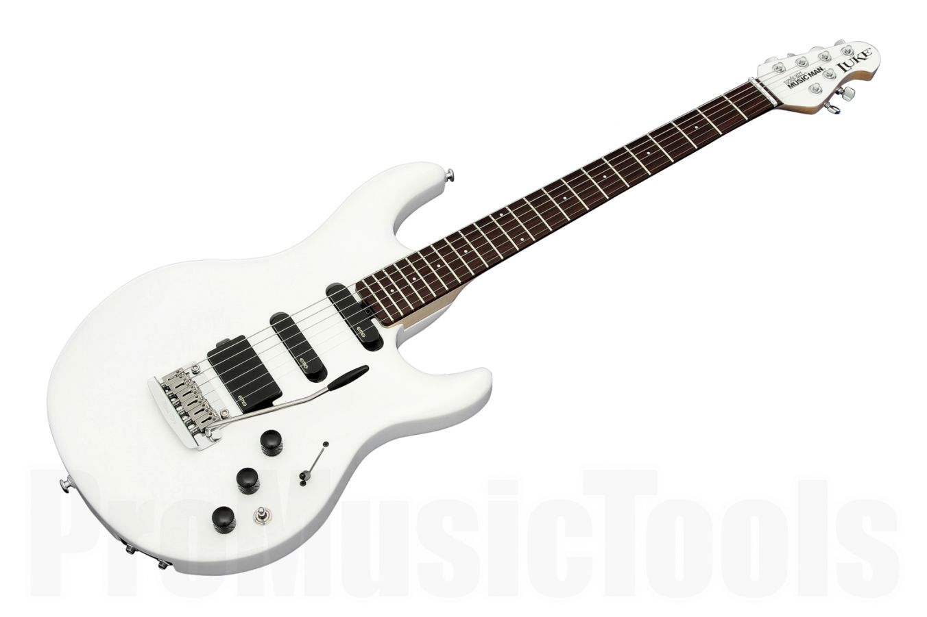 Music Man USA Luke Piezo WH - White MH