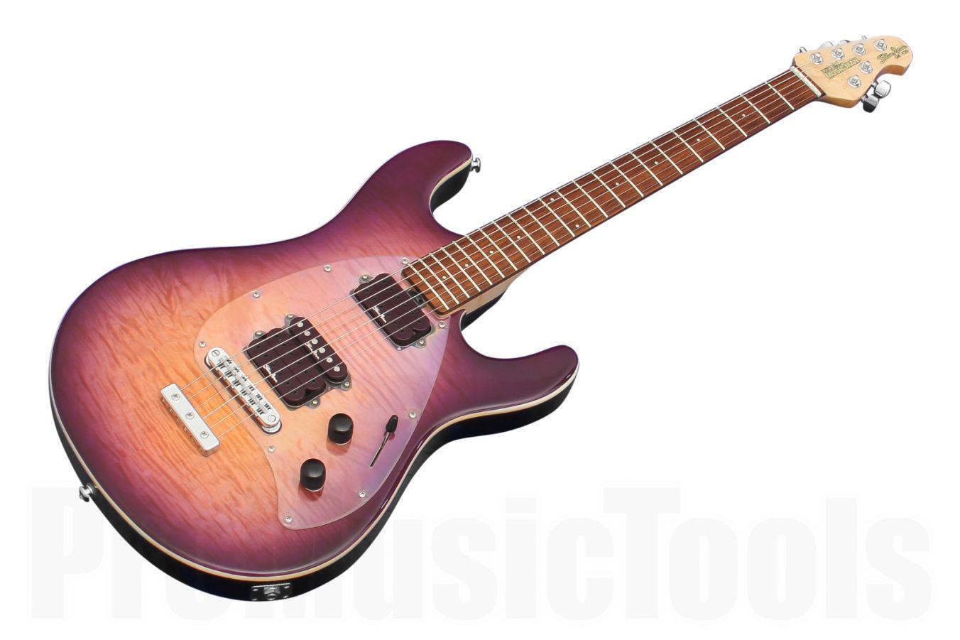 Music Man USA Steve Morse Y2D STD PS - Purple Sunset