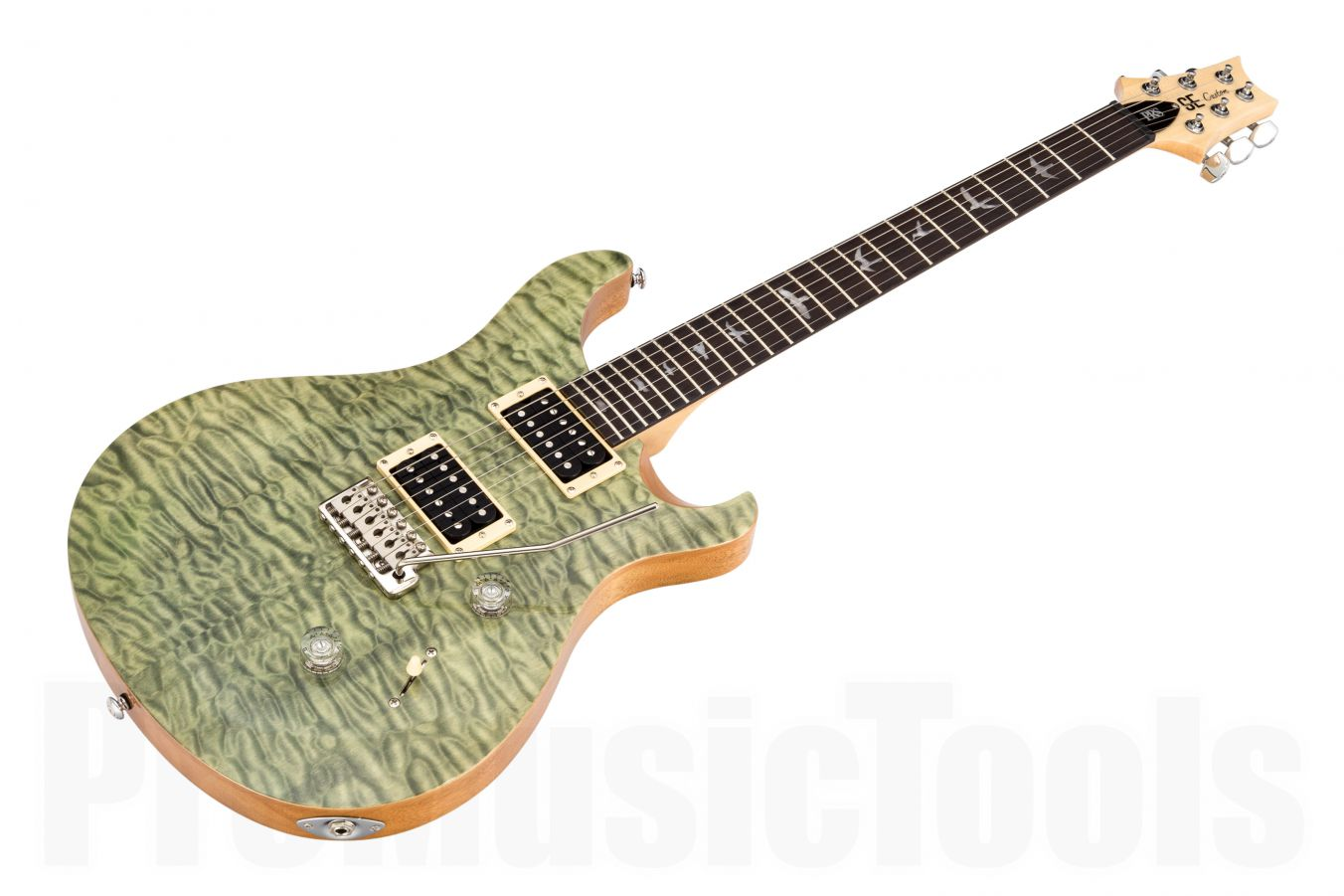 PRS SE Custom 24 Quilted Top TGQ - Trampas Green