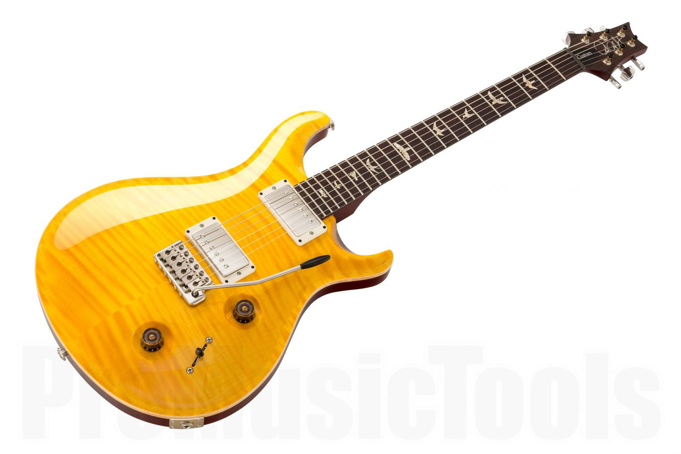 PRS USA Custom 22 Trem 10-Top FD - Faded Vintage Yellow