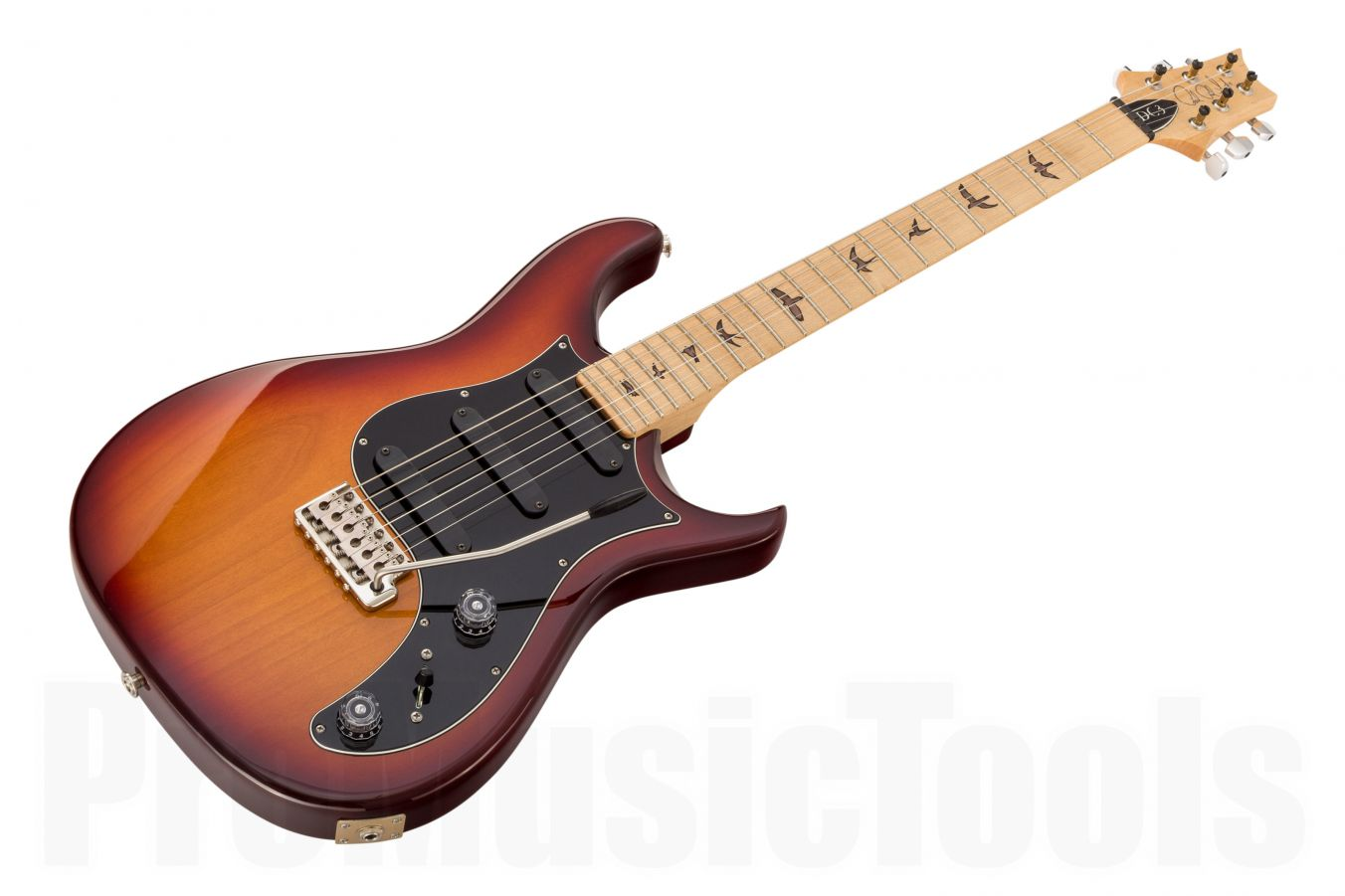 PRS USA DC3 Birds VB - Vintage Burst MN