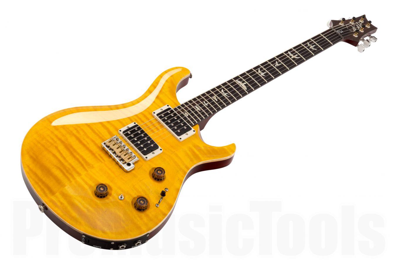 PRS USA Custom 24 Piezo (P24) Trem FD - Faded Vintage Yellow