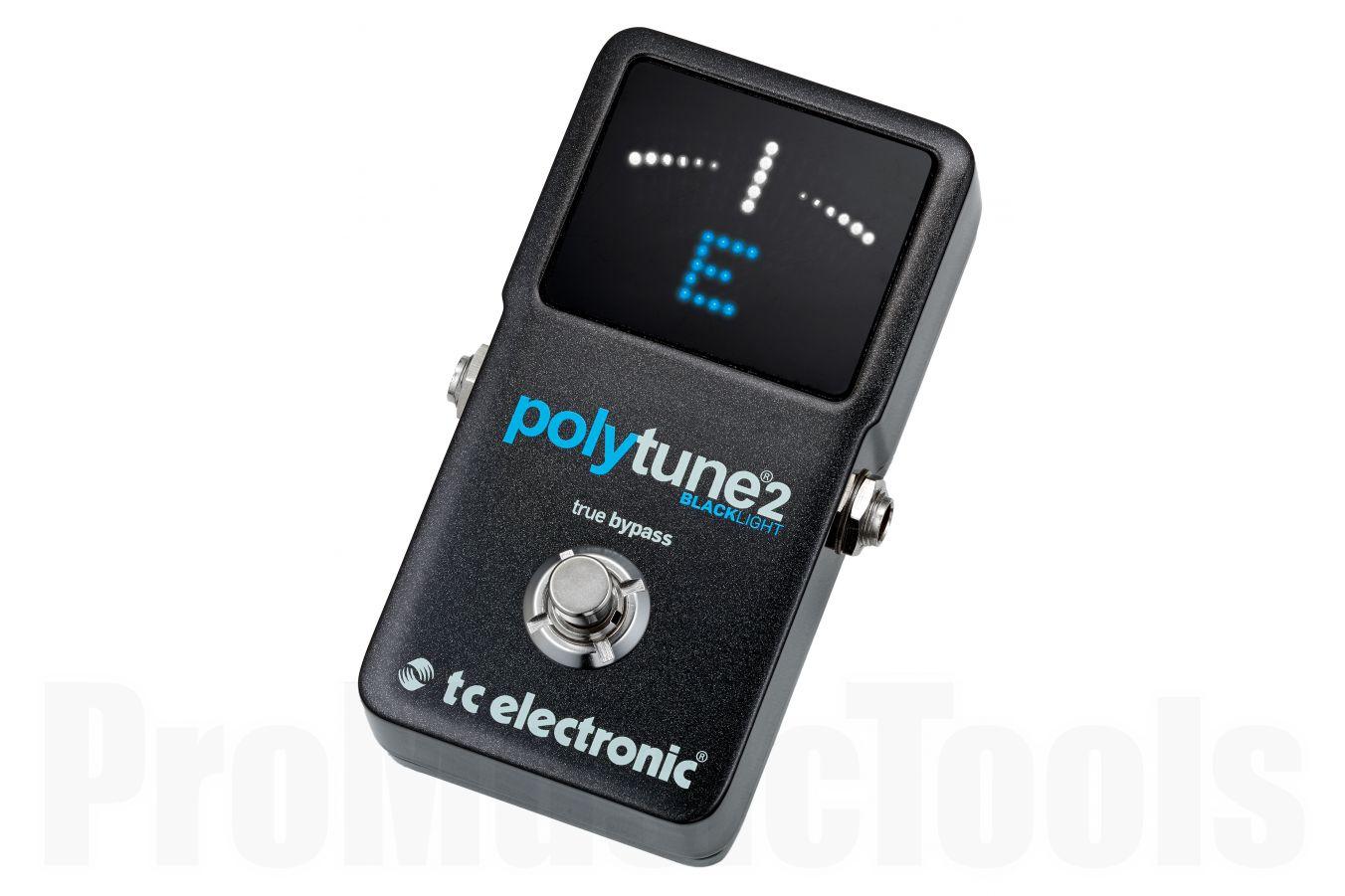 TC Electronic PolyTune 2 BlackLight - b-stock (1x opened box)
