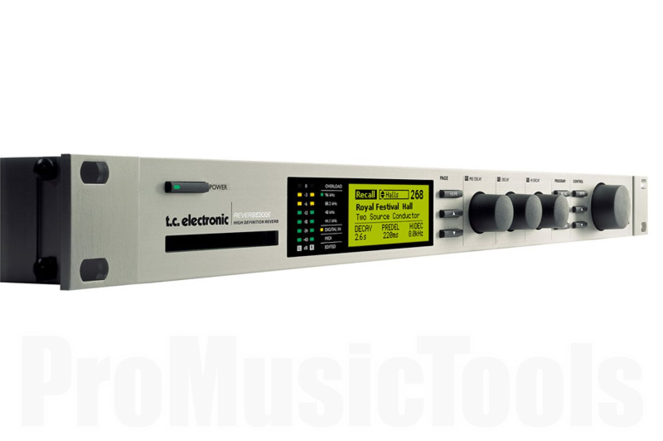 TC Electronic Reverb 4000 High-End Studio Reverb Processor