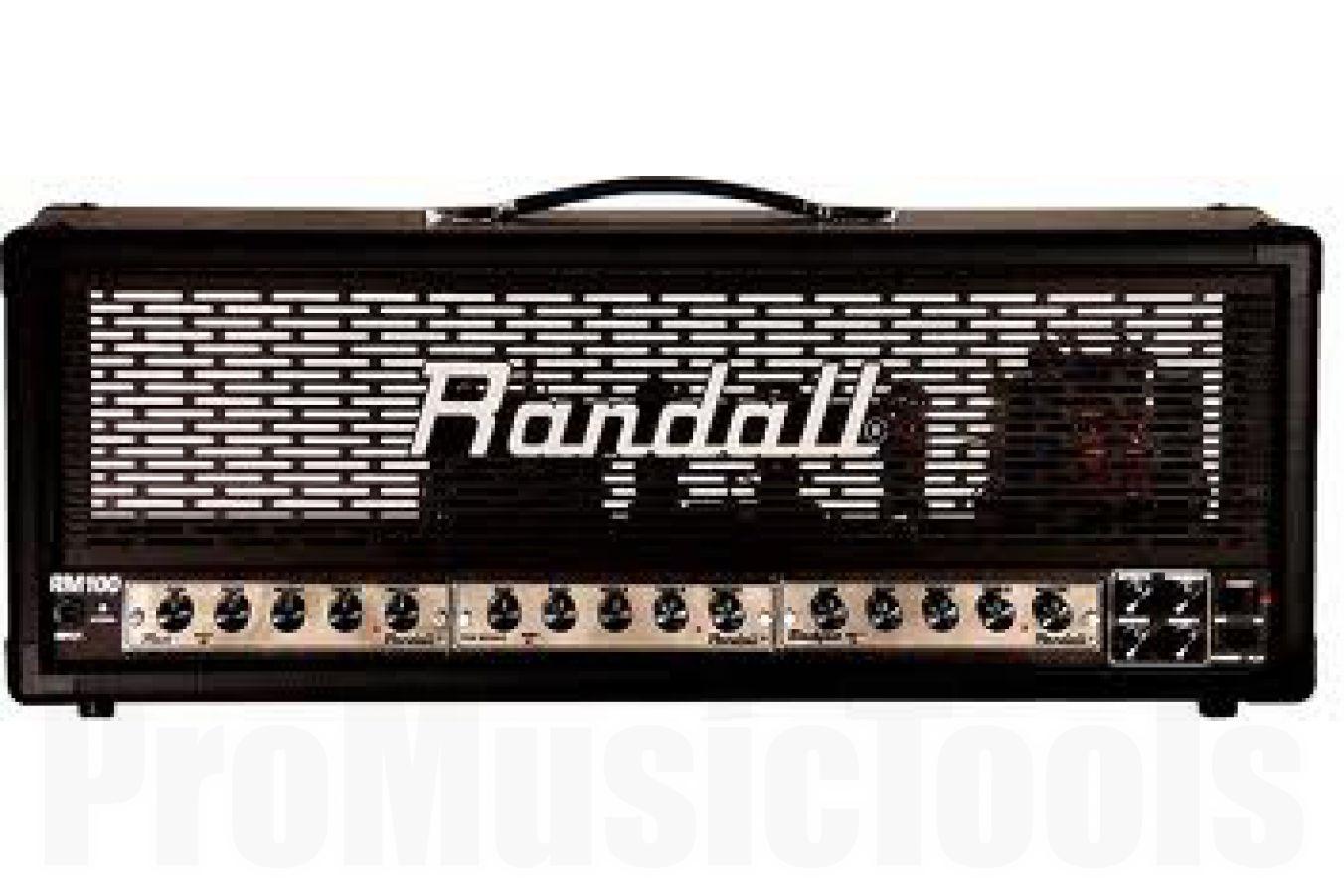 Randall USA RM100 MTS Tube Amp Head (excl. modules)