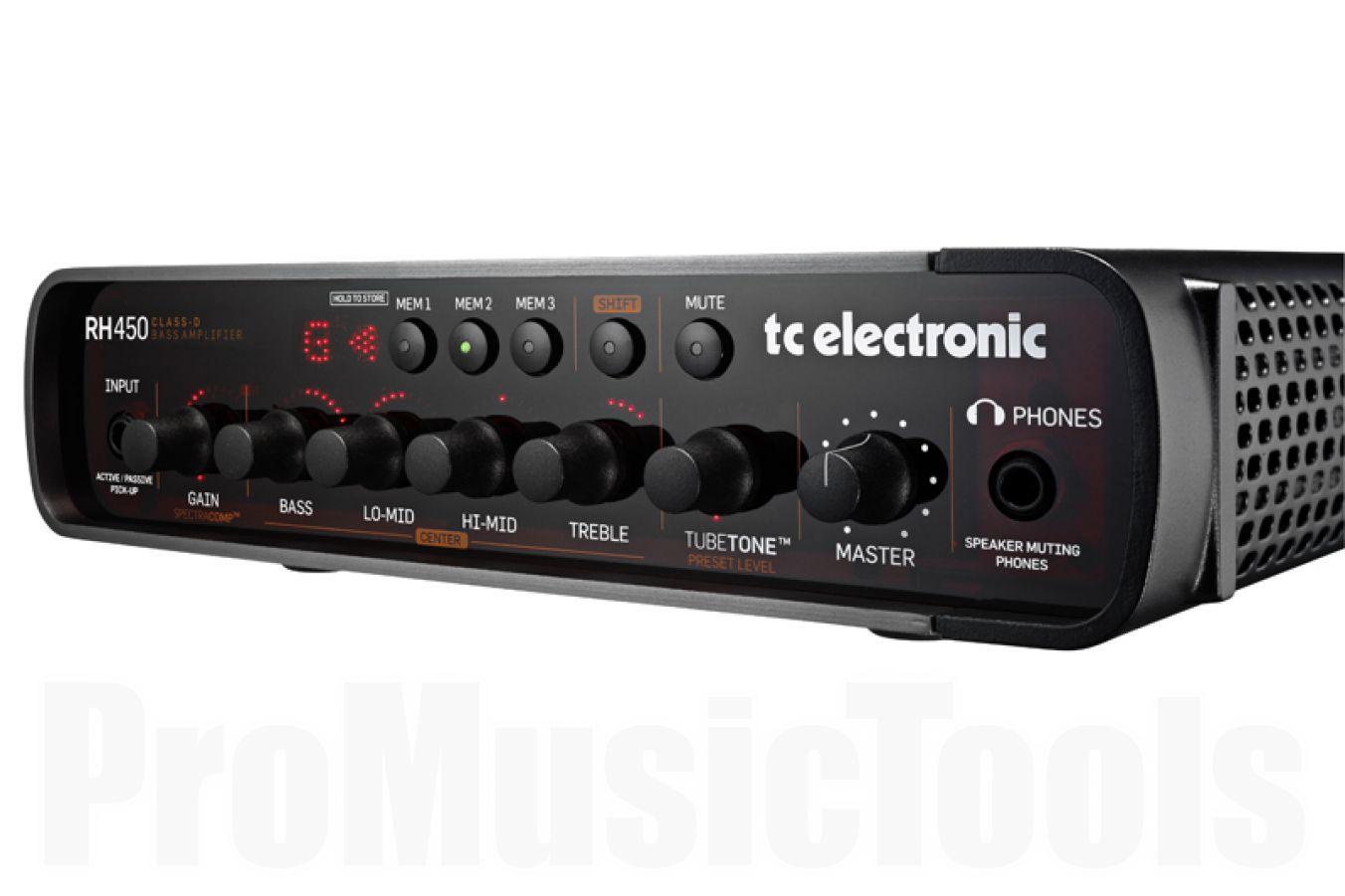 TC Electronic RH450 programmable bass amp - b-stock (1x opened box)