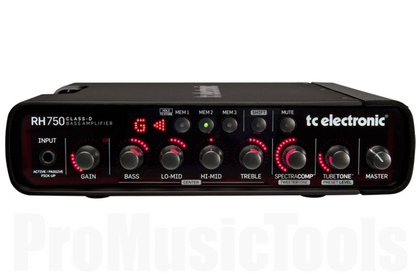 TC Electronic RH750 programmable bass amp - demo