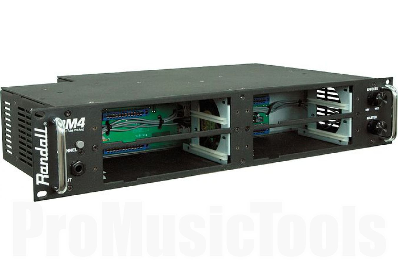 Randall USA RM4 MTS Guitar Rack Preamp Chassis - demo