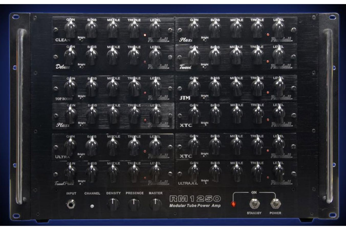 Randall USA RM1250 MTS Power Amp (excl. modules)