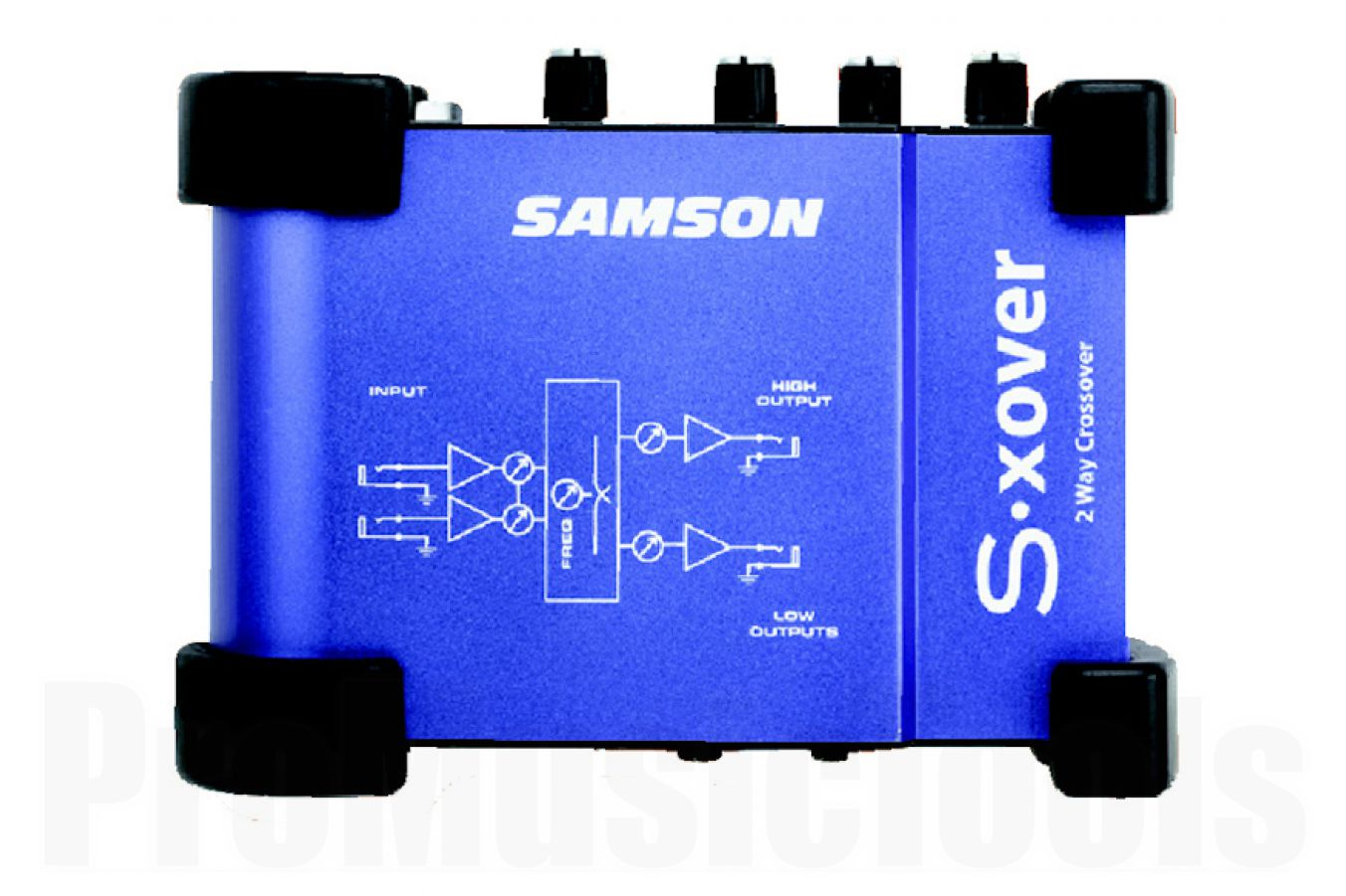 Samson S-xover 2-Way Electronic Crossover