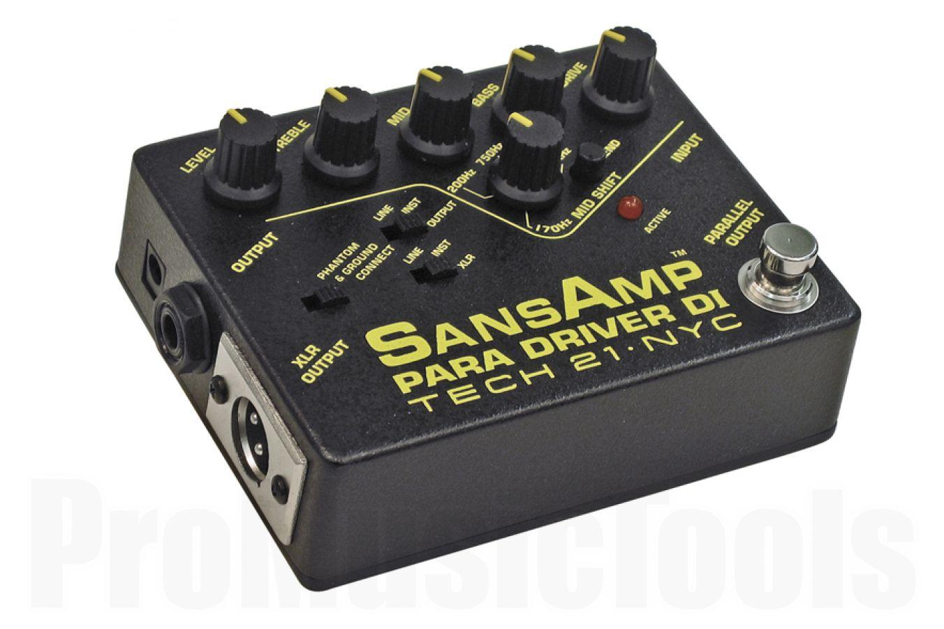 Tech 21 USA SansAmp Para Driver D.I. Preamp