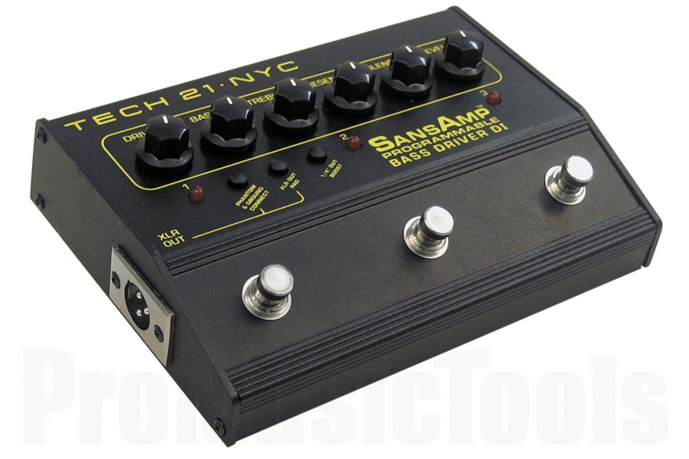 Tech 21 USA SansAmp Bass Driver D.I. Programmable