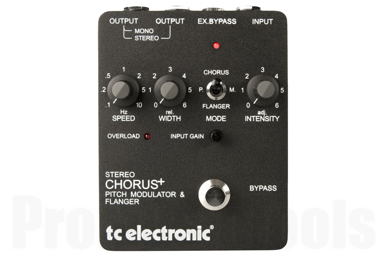 TC Electronic SCF Classic Analog Stereo Chorus / Flanger / Pitch Modulator - b-stock (1x opened box)