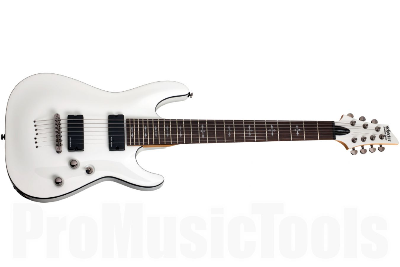 Schecter Demon 7 WHT - White