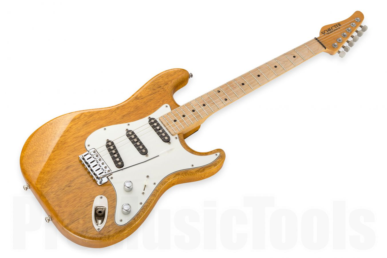 Schecter USA Custom Shop Strat - Korina - Natural