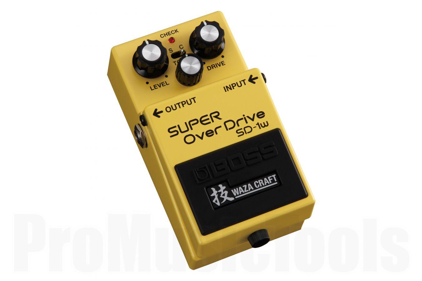 Boss SD-1w Super OverDrive - Waza Craft