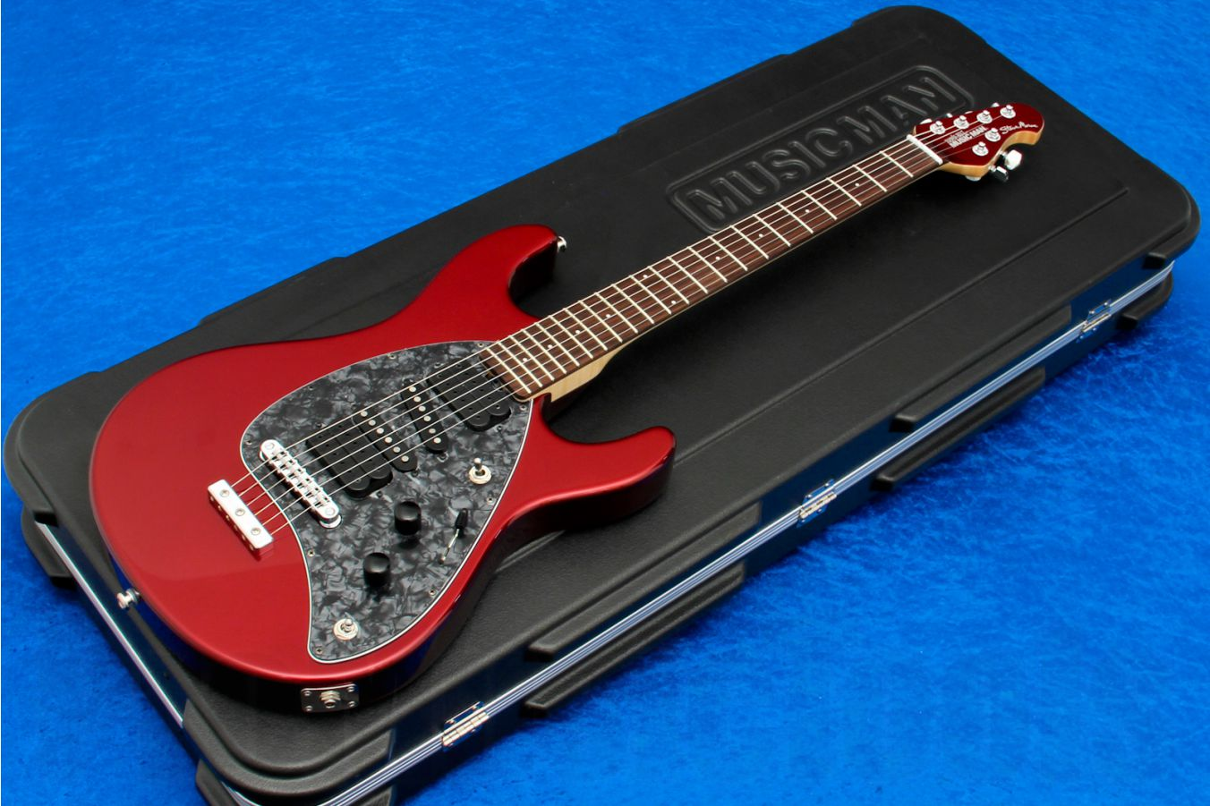Music Man USA Steve Morse STD CR - Candy Red MH
