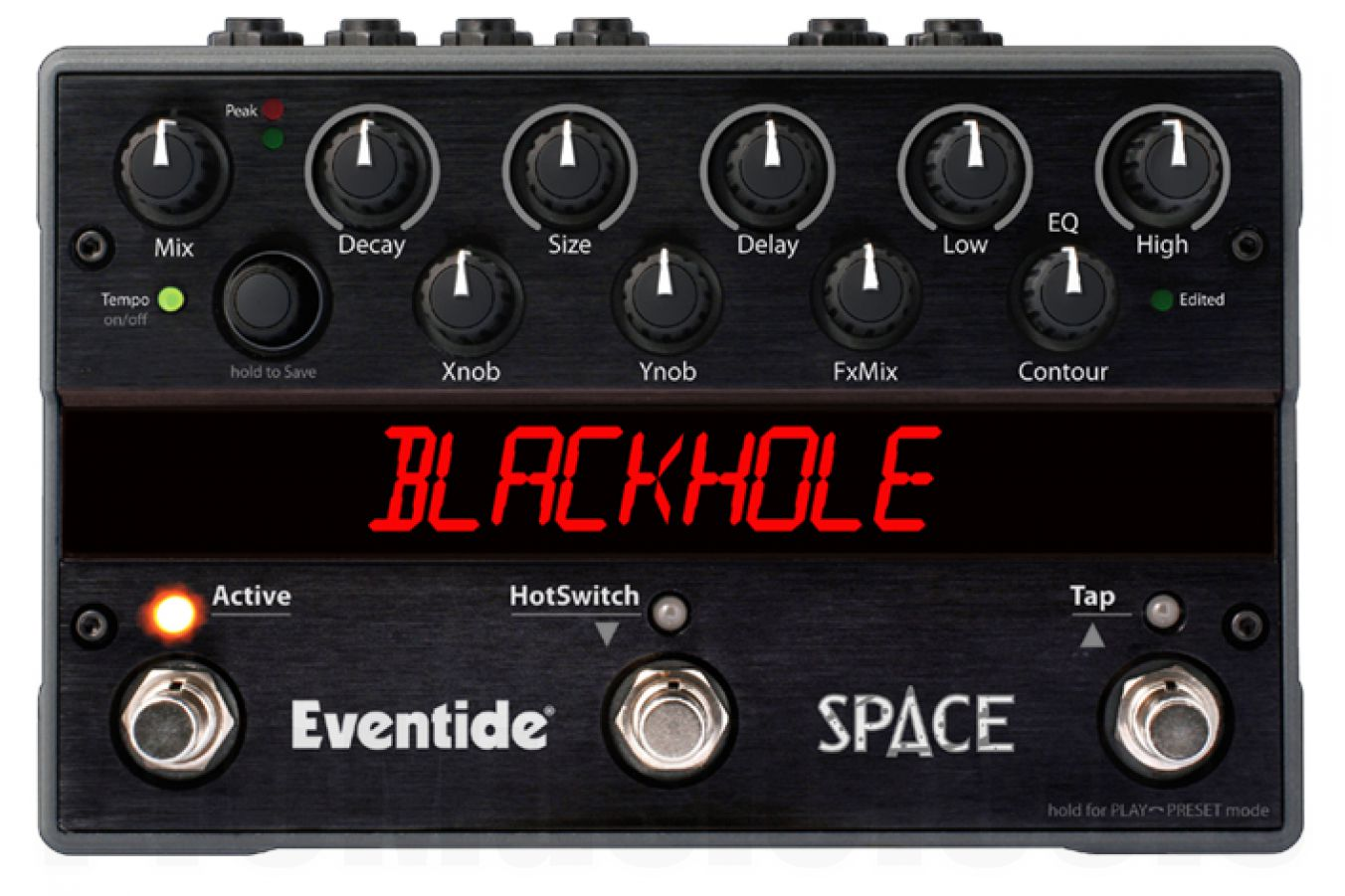 Eventide Space Reverb - demo