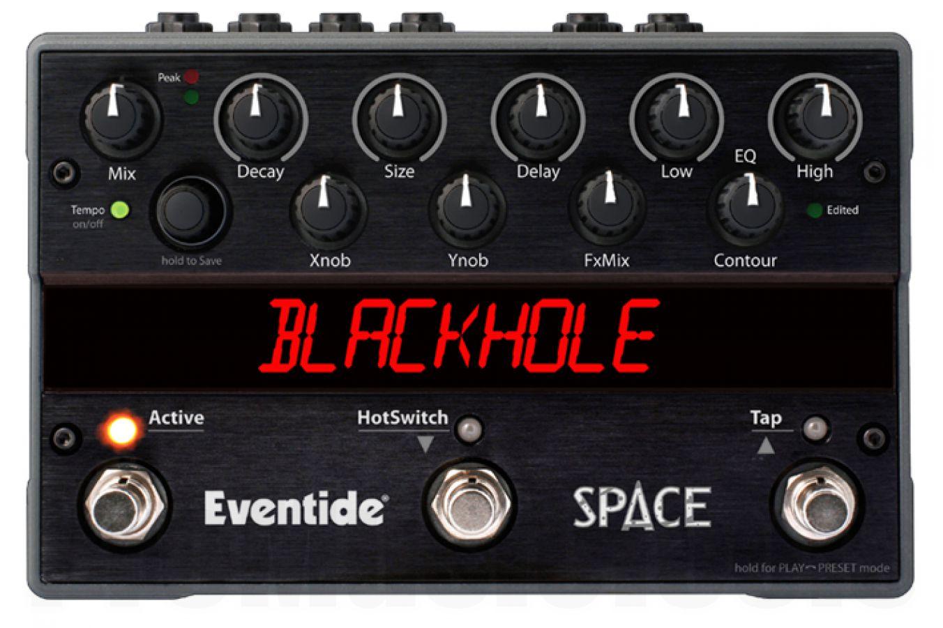 Eventide Space Reverb - demo