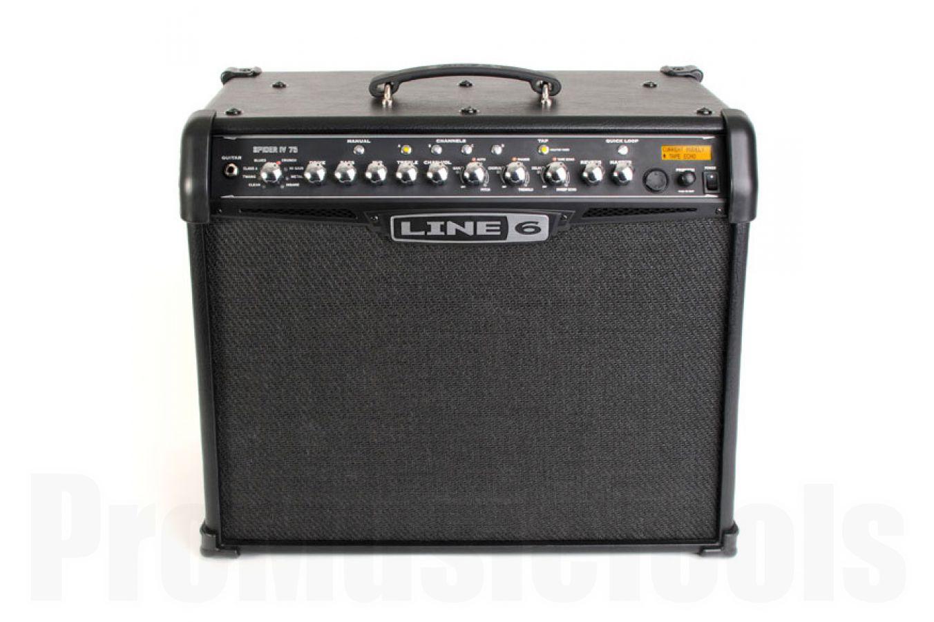 Line6 Spider IV 75 combo modeling amp