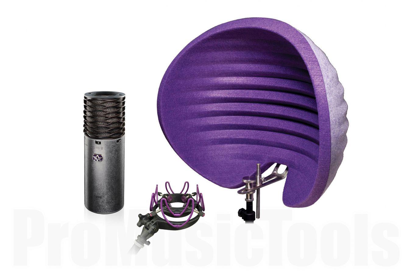 Aston Microphones Spirit, Halo Reflection Filter & USM Shock Mount - Bundle offer