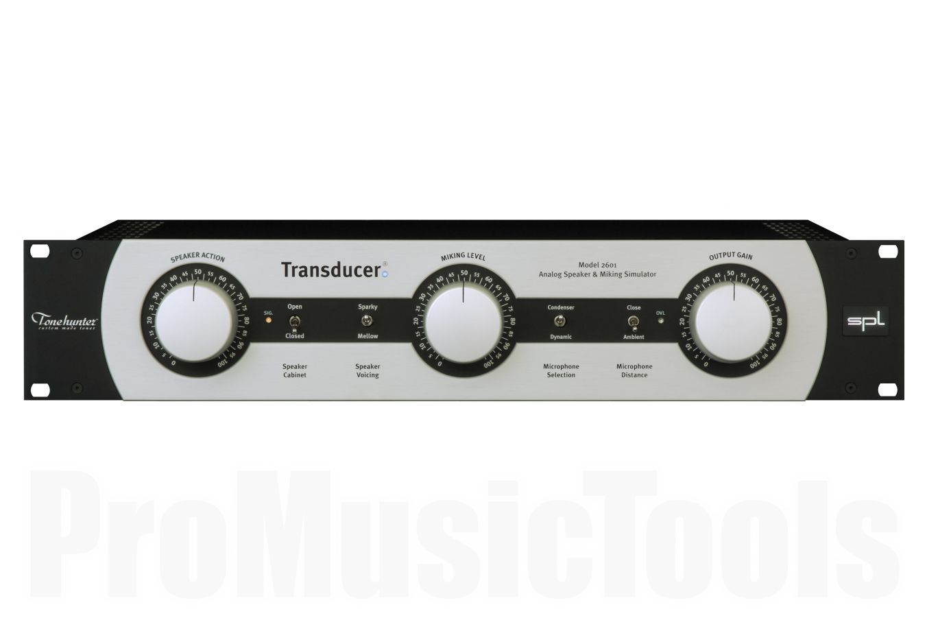SPL Transducer - Analog Microphone & Speaker Simulator
