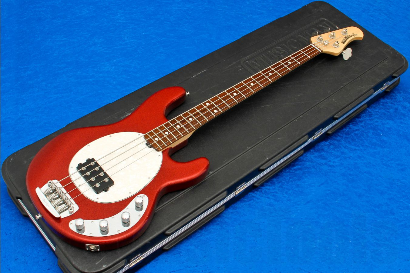 Music Man USA Stingray 4 RS - Red Sparkle RW Limited Edition