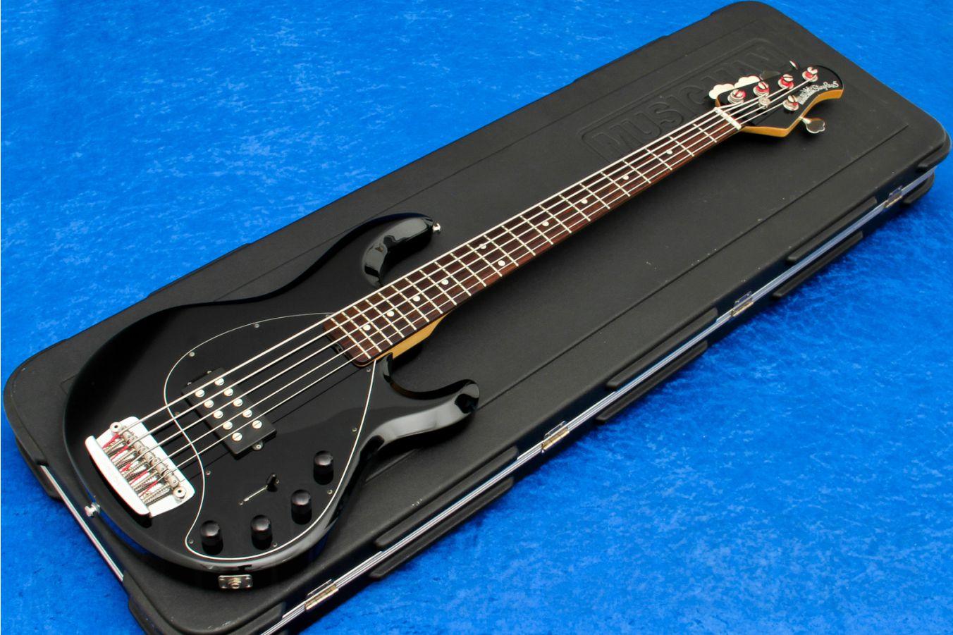 Music Man USA Stingray 5 BK - Black RW MH