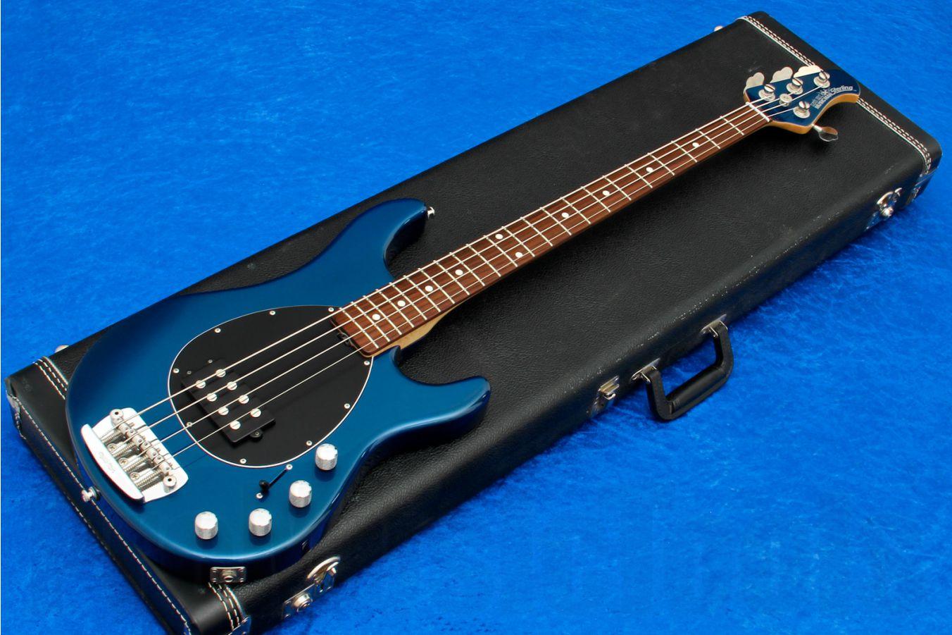 Music Man USA Sterling 4 BP - Blue Pearl RW MH