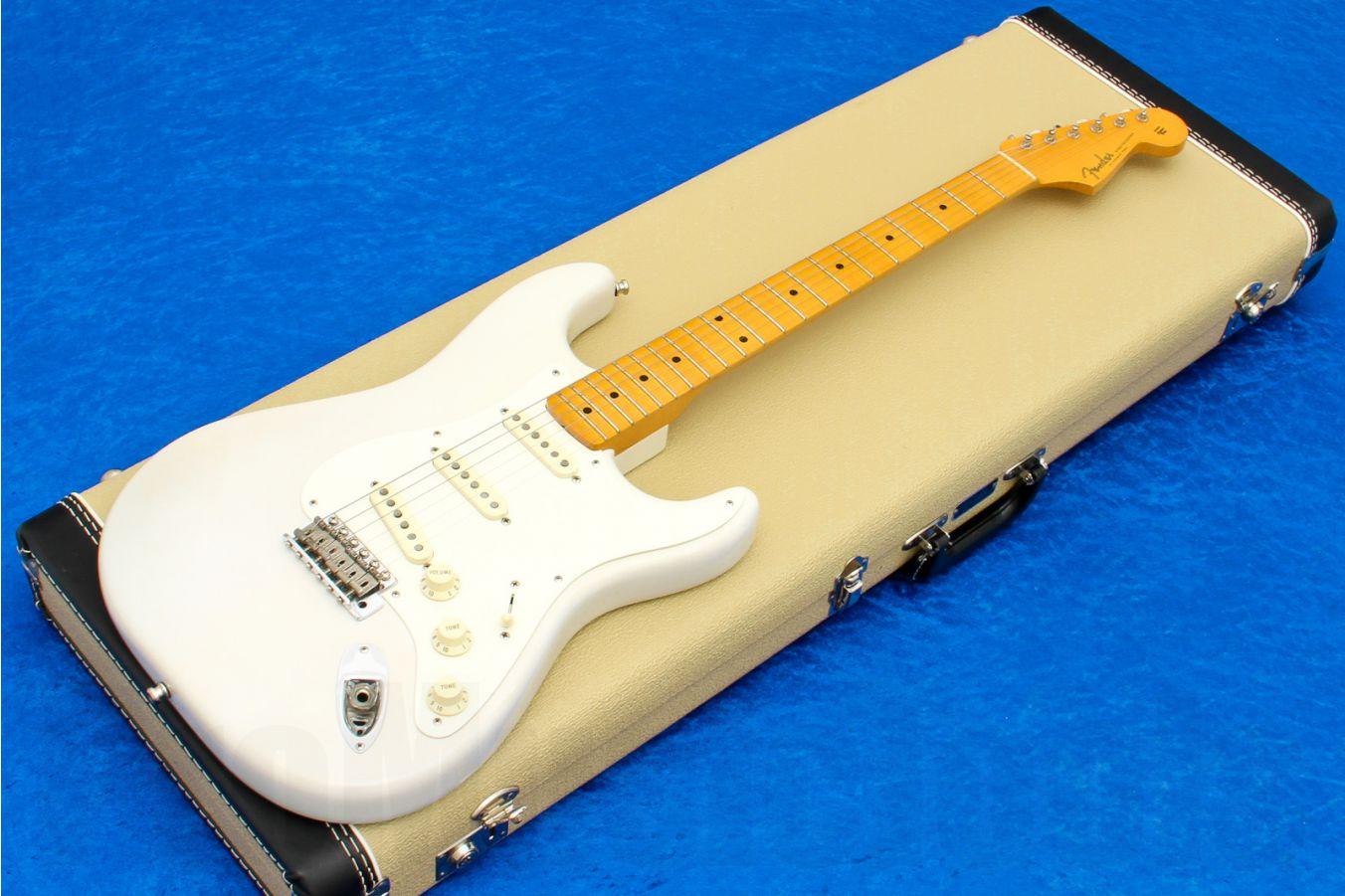 Fender USA Eric Johnson Stratocaster Maple - White Blonde