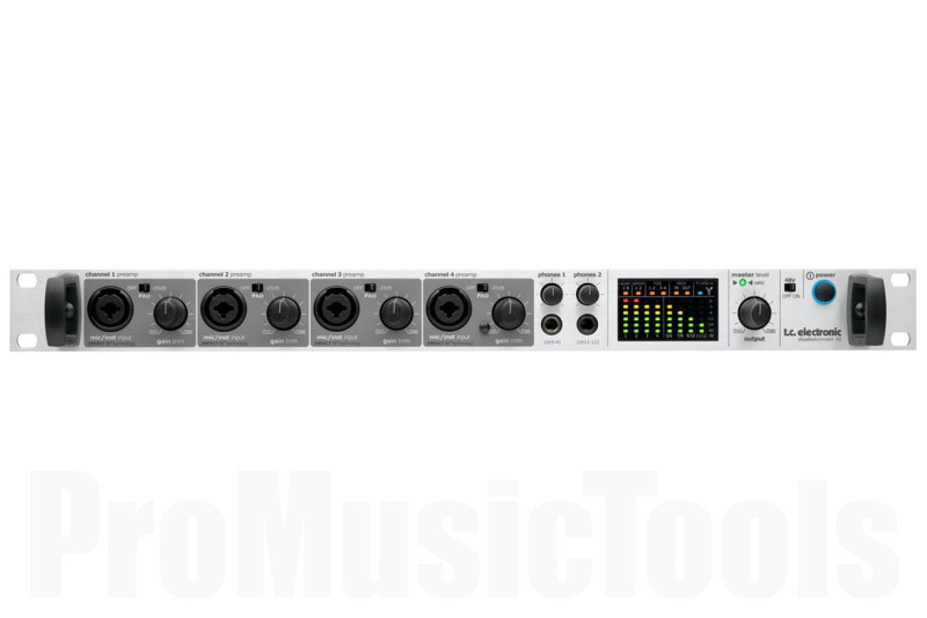 TC Electronic Studio Konnekt 48 incl. Remote - b-stock (1x opened box)