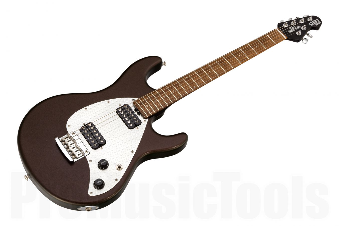 Music Man USA Silhouette S.U.B. 1 STD Guitar HH T7 - Textured Cinnamon
