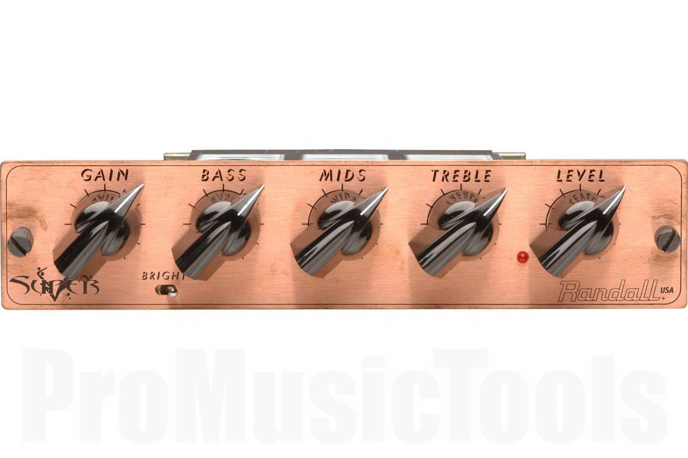 Randall USA MTS Super V - George Lynch signature guitar amp module