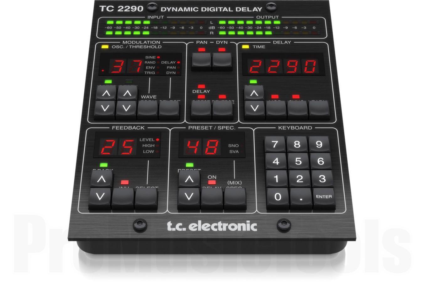 TC Electronic TC2290-DT Dynamic Digital Delay Plug-In + Desktop Controller