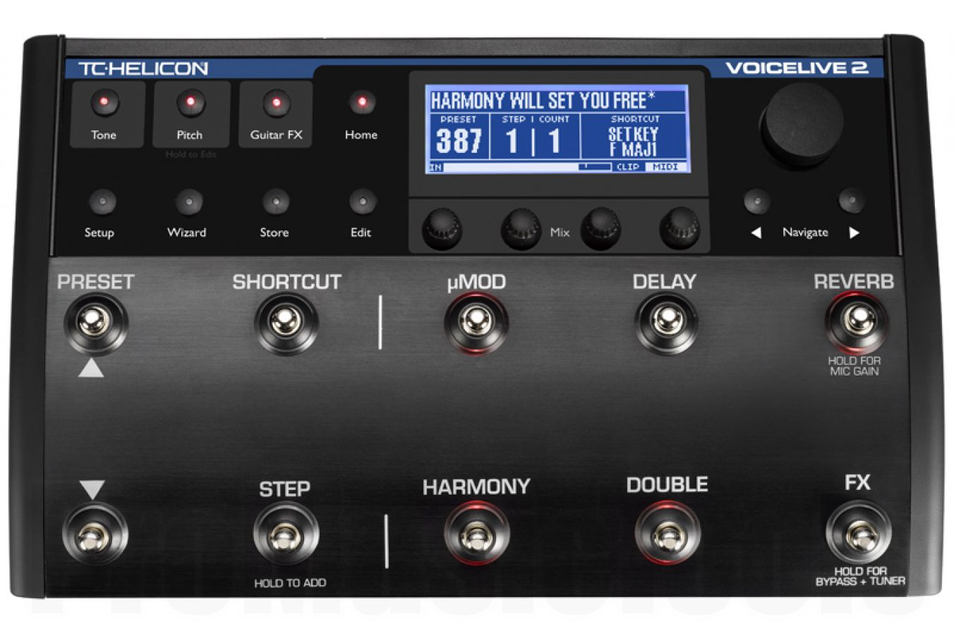 TC Helicon VoiceLive 2 - demo