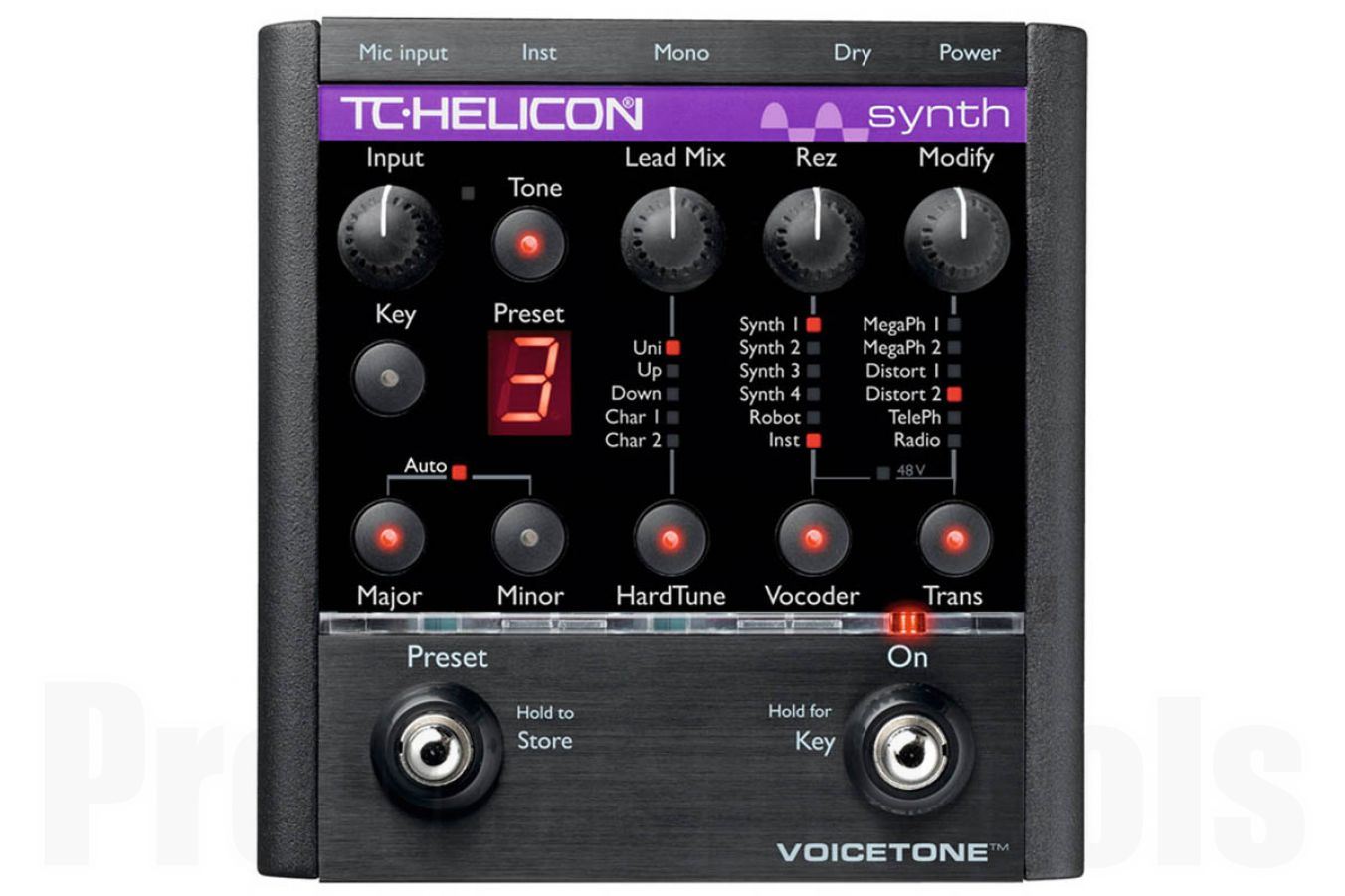 TC Helicon VoiceTone Synth HardTune & Vocoder - demo