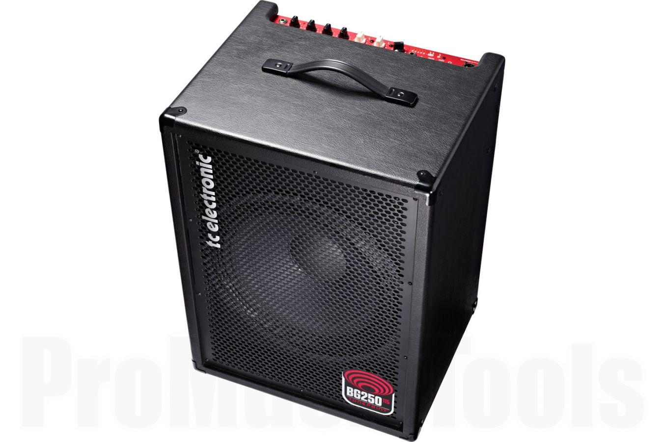 TC Electronic BG250-115 MkII Bass Combo - demo