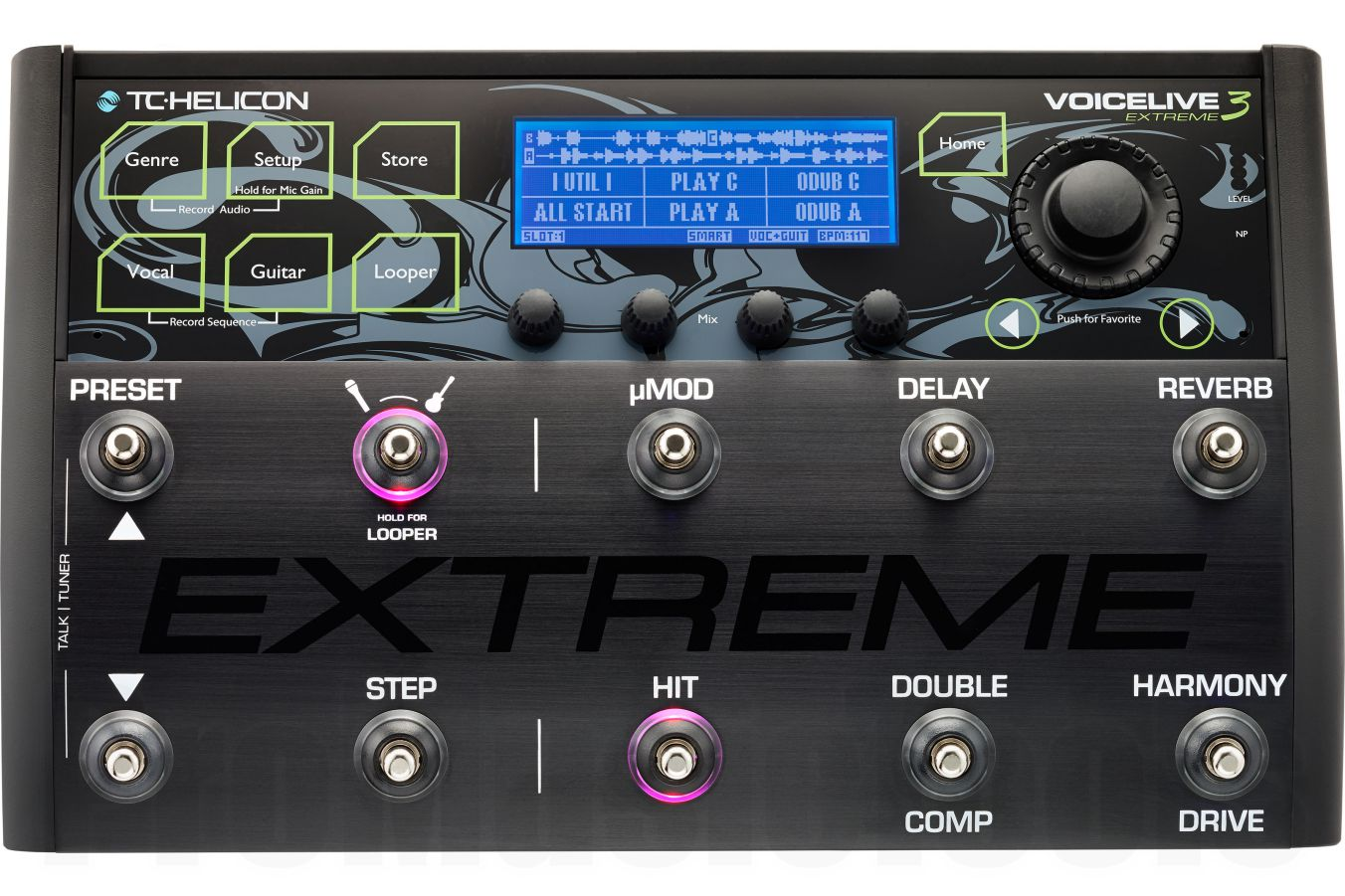 TC Helicon VoiceLive 3 Extreme - demo