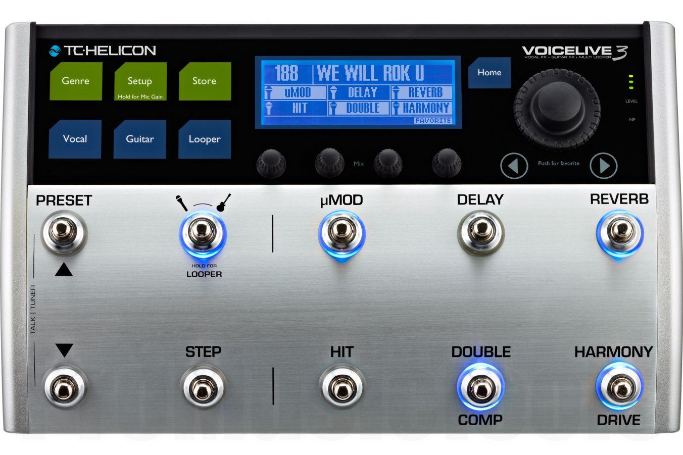 TC Helicon VoiceLive 3 - demo