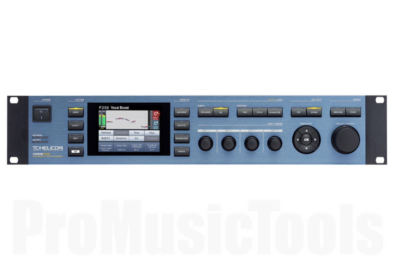 TC Helicon VoicePro - demo