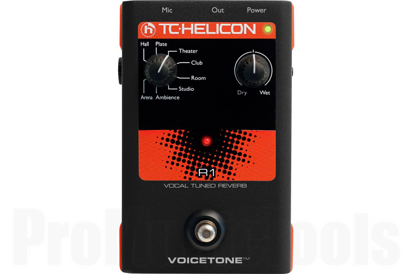 TC Helicon VoiceTone R1 Vocal Tuned Reverb - b-stock (1x opened box)