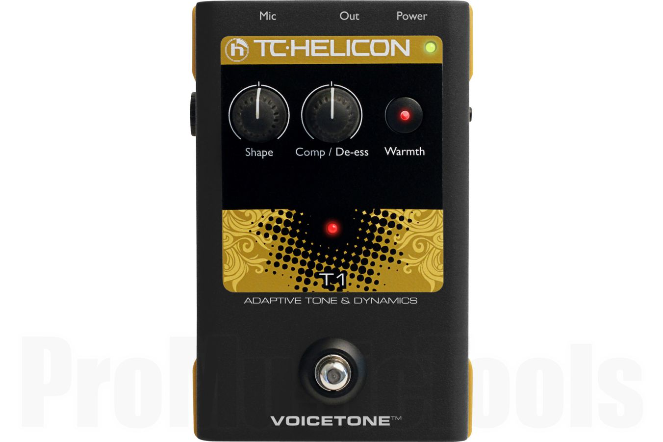 TC Helicon VoiceTone T1 Adaptive Tone & Dynamics - demo