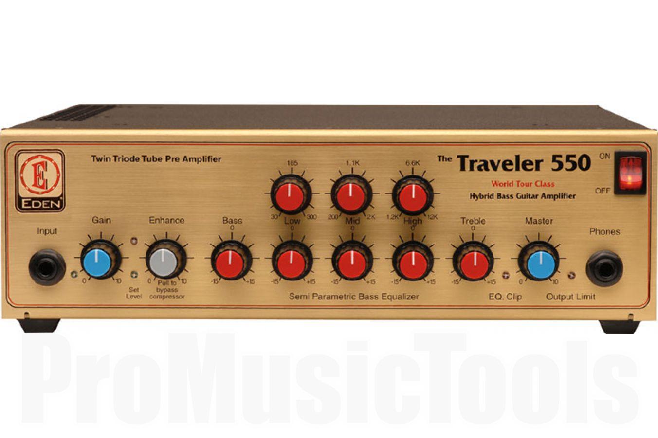 Eden WT550 Traveler World Tour bass head