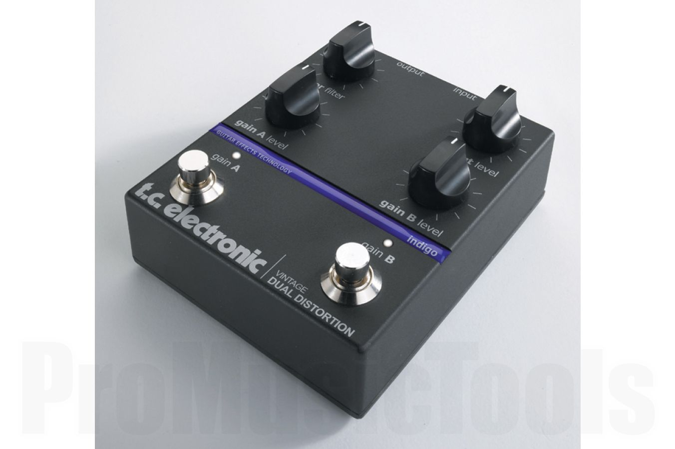 TC Electronic Vintage Dual Distortion - demo