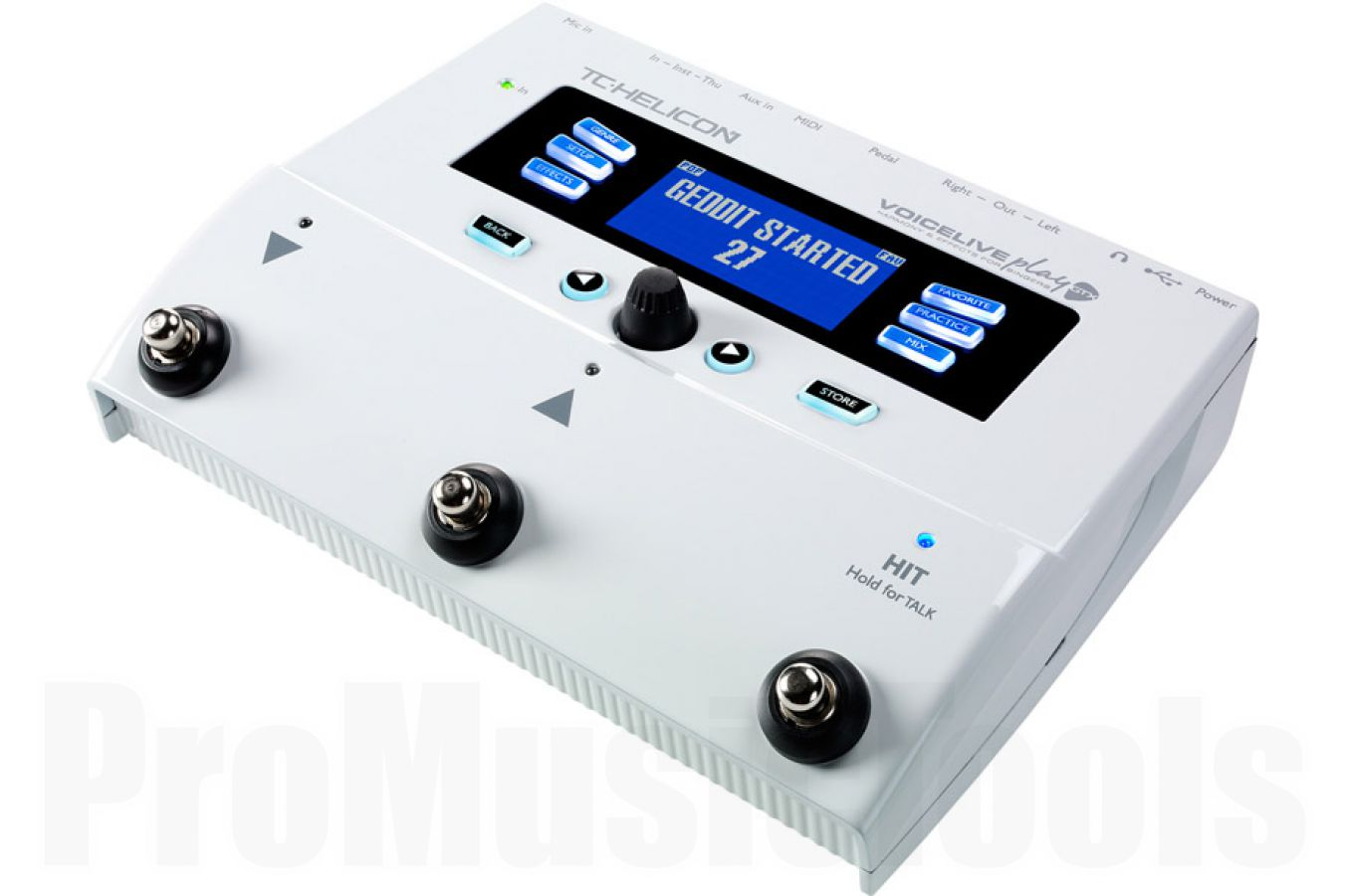 TC Helicon VoiceLive Play GTX - demo