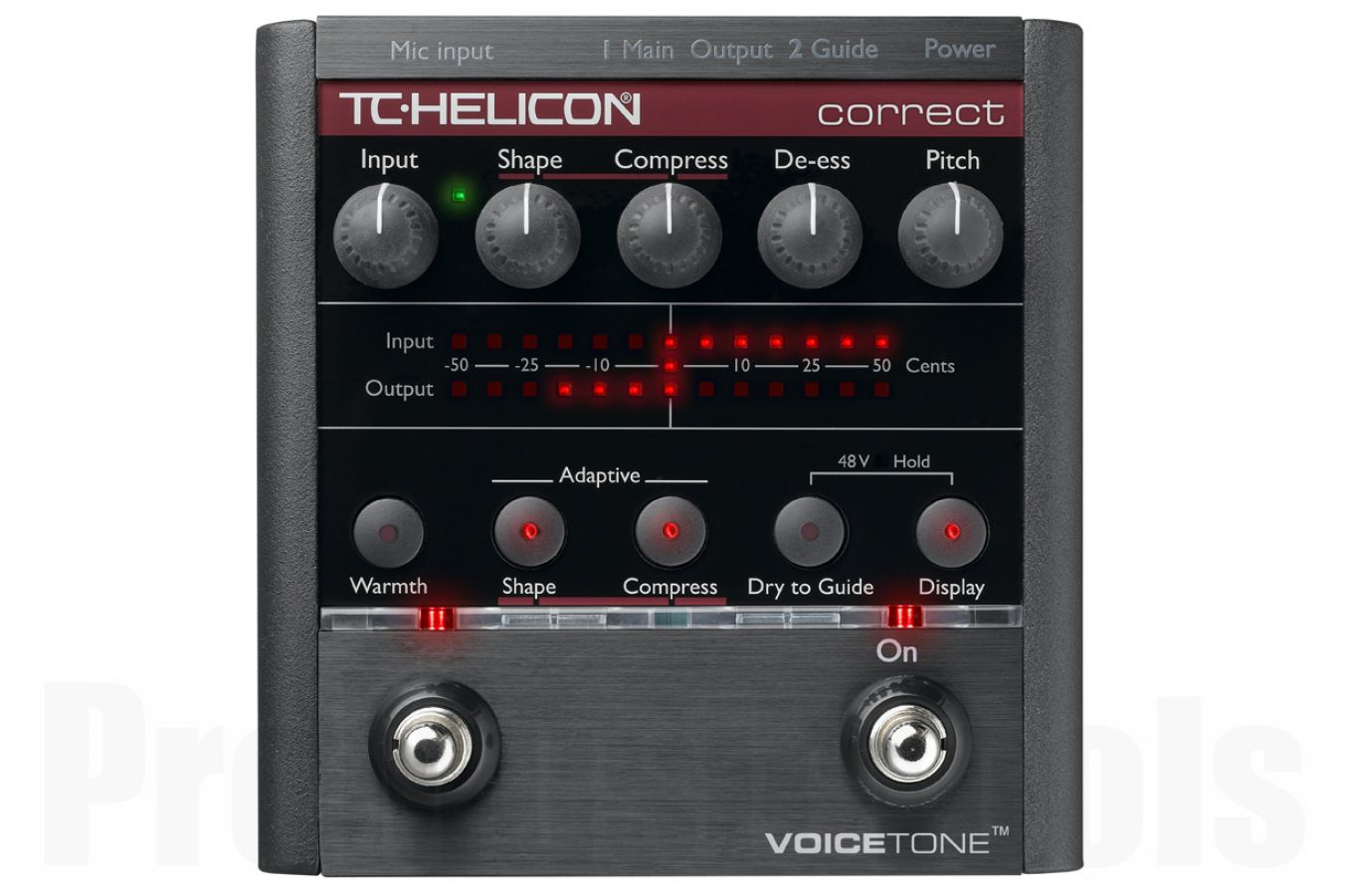 TC Helicon VoiceTone Correct - demo