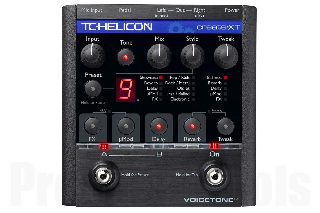 TC Helicon VoiceTone Create XT - demo