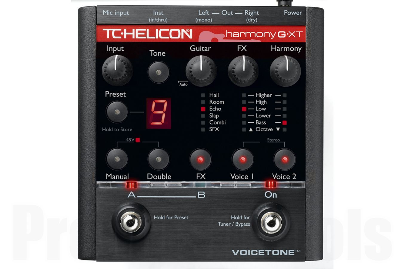 TC Helicon VoiceTone Harmony-G XT - demo