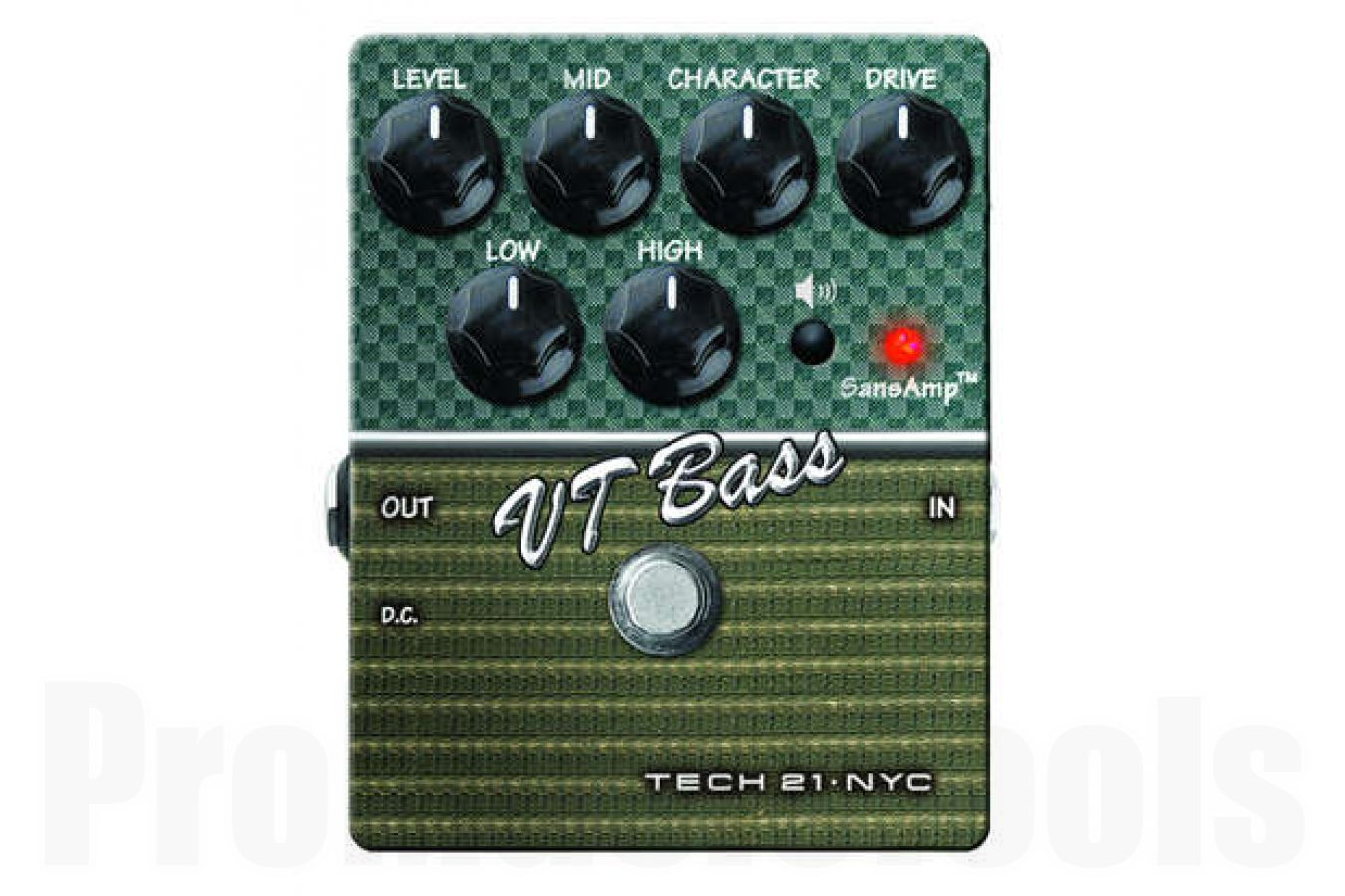 Tech 21 USA SansAmp Character Series VT Bass V2 - b-stock (1x opened box)